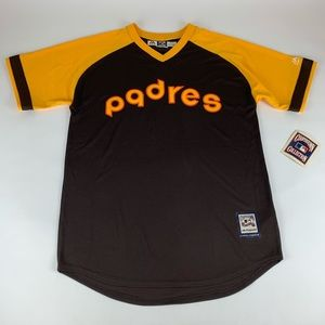 San Diego Padres MLB Majestic Cooperstown Jersey